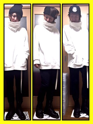 「【VOAAOV】 high necked sweater(VOAAOV)」 using this 寺田イス銀河 looks