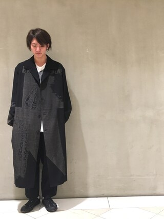 「2017SS(Yohji Yamamoto POUR HOMME)」 using this 寺田イス銀河 looks