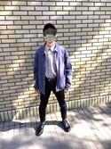 れーじ is wearing POLO RALPH LAUREN
