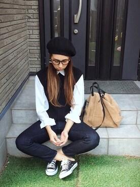 Chinatsu♡さんの(ZARA|ザラ)を使ったコーディネート