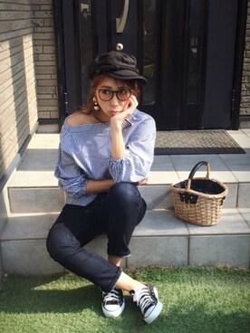 Chinatsu♡さんの(WEGO ウィゴー)を使ったコーディネート