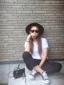 Chinatsu♡さんの「MADISON/マディソン クロスボディ(MARC JACOBS マークジェイコブス)」を使ったコーディネート