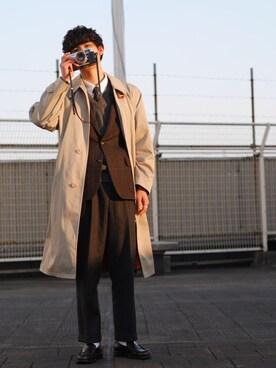さきさんの「オックスフォードシャツ(長袖)(ユニクロ)」を使ったコーディネート