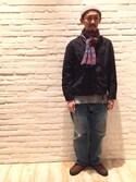 Masakazu   Hiranoさんの「VANS ヴァンズ CHUKKA PRO VN000FXXJ6P (50TH) '93 BISO(VANS|バンズ)」を使ったコーディネート