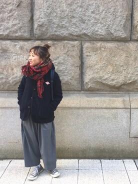 マ   ミ   コさんの「CONVERSE / CVS ALL STAR OX(CONVERSE)」を使ったコーディネート