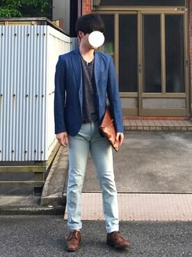 nakanoさんの(BLUE TORNADO|ブルートルネード)を使ったコーディネート