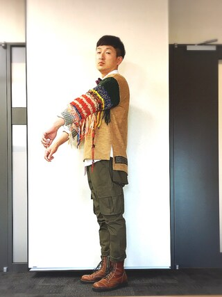 「BIG TOAST PKT PANTS(VIRGO)」 using this ロバート馬場裕之 looks