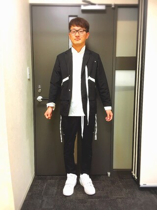 「Growth shirts(VIRGO)」 using this ロバート馬場裕之 looks