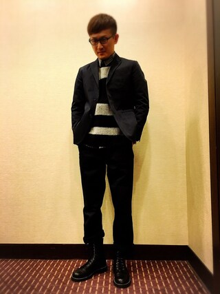 「DICKIES x MACKDADDY TAILORED JACKET(MACKDADDY)」 using this ロバート馬場裕之 looks