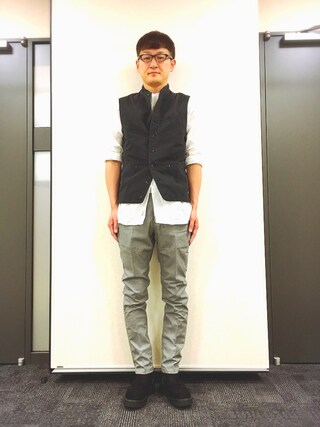 「mcg1948-HUNTING STAND VEST ベスト(EGO TRIPPING)」 using this ロバート馬場裕之 looks