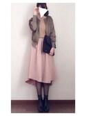柚子さんの「靴下屋/ 30デニールタイツ TLサイズ(靴下屋|クツシタヤ)」を使ったコーディネート