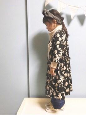 yu_naさんの「ワイヤーイリマルチヘアバンド(studio CLIP|スタディオクリップ)」を使ったコーディネート