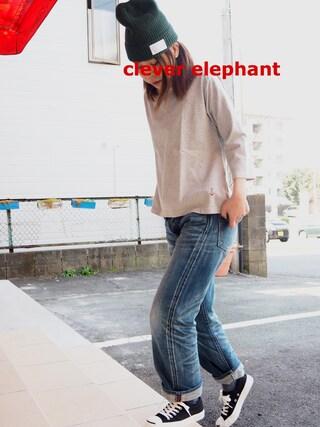 clever elephantさんの(快晴堂|カイセイドウ)を使ったコーディネート