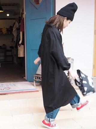 clever elephantさんの「100/2ドビー          バルーンSH-OP(yuni|ユニ)」を使ったコーディネート