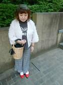 nonさんの「【Made in Japan】【レイン対応】バレエレインパンプス(303-7006)JELLY BEANS(ジェリービーンズ)(JELLY BEANS|ジェリービーンズ)」を使ったコーディネート