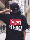 "hkdou is wearing Supreme ""シュプリームx ルイヴィトンx アディダス 靴・シューズ メンズ     アディダス シューズ ローカット スニーカー adidas Supreme x Louis Vuitton x adidas NMD R1 エヌエムディー  040001"""