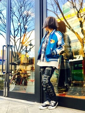 AVIREX 仙台|minagawaさんの(AVIREX|アヴィレックス)を使ったコーディネート