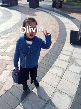 oliviaさんの「セットアップリブガウチョパンツ(CIAOPANIC TYPY|チャオパニックティピー)」を使ったコーディネート