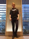 Hard Rock Cafe JAPANさんの「MENS PITBULL T(Hard Rock Cafe|ハードロックカフェ)」を使ったコーディネート