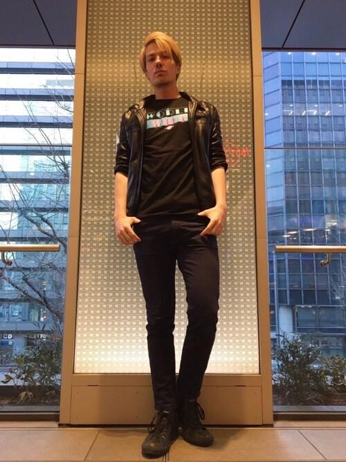 Hard Rock Cafe JAPANさんの「MENS PITBULL T(Hard Rock Cafe)」を使ったコーディネート