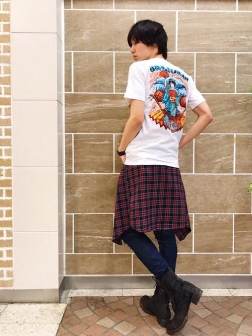 Hard Rock Cafe JAPANさんの(Hard Rock Cafe)を使ったコーディネート