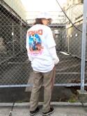 Hard Rock Cafe JAPANさんの「City T(Hard Rock Cafe|ハードロックカフェ)」を使ったコーディネート