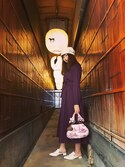 hihiruさんの「チャイナスリッパ(merry jenny|メリージェニー)」を使ったコーディネート