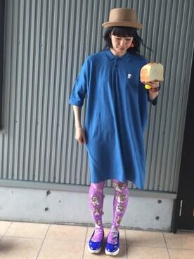 evoluir@kanazawa|アッコヤナセさんの(ギズモ)を使ったコーディネート