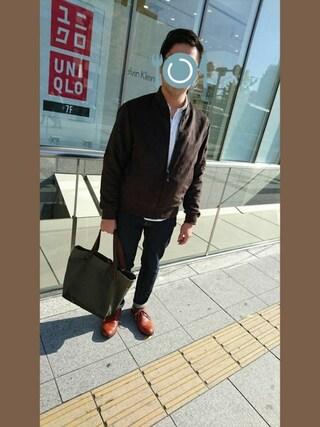 「■別注■ PADRONE×MIDWEST ベビーカーフローカットシューズ(PADRONE)」 using this ピーコ looks
