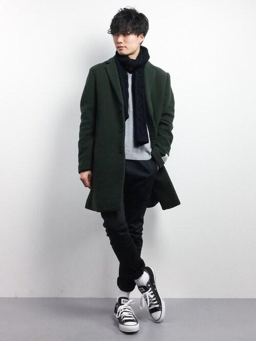 【冬】季節別のおしゃれ古着メンズファッションコーデ