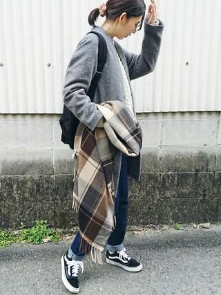 「【Discoat】デニムハイウエストテーパード(Discoat)」 using this meiko looks