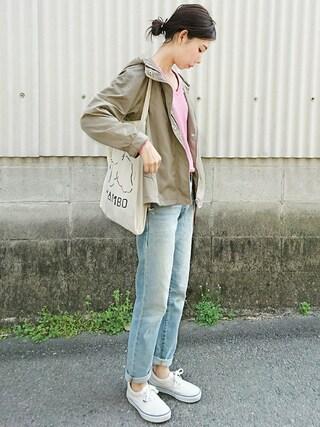 「マウンテンパーカー(N.(N. Natural Beauty Basic))」 using this meiko looks