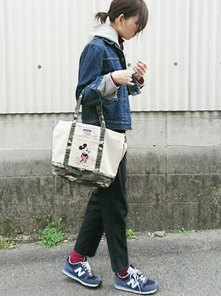 「イージーパンツ(N.(N. Natural Beauty Basic))」 using this meiko looks