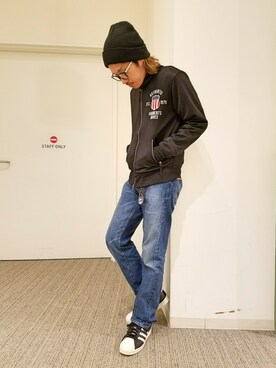 AVIREX富士見|mr.sakuraiさんの(AVIREX|アヴィレックス)を使ったコーディネート