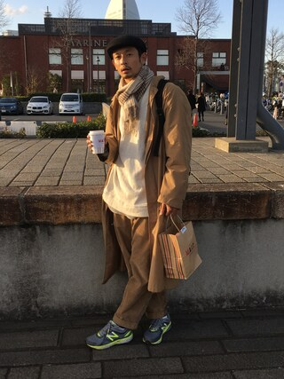 junya_kasugaさんの「New Balance / ニューバランス M1040(New Balance|ニューバランス)」を使ったコーディネート