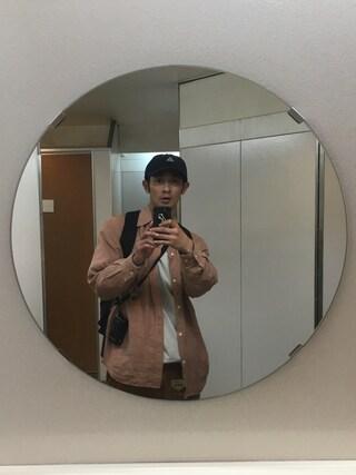 junya_kasugaさんの「HEAVYWEIGHT COLLECTIONS / ソリッド ロングスリーブ Tシャツ 16SS(BEAMS T|ビームスティー)」を使ったコーディネート