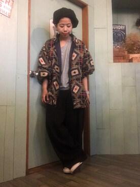 keikoさんの(coen|コーエン)を使ったコーディネート