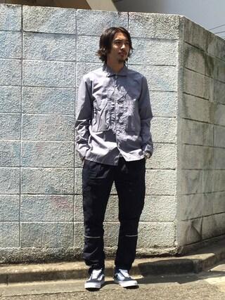 BEAUTY&YOUTH UNITED ARROWS|Daisuke Sakamotoさんの(nonnative|ノンネイティブ)を使ったコーディネート