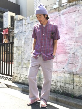 BEAUTY&YOUTH UNITED ARROWS Daisuke Sakamotoさんの(Ayame アヤメ)を使ったコーディネート