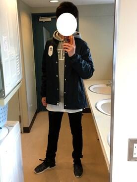 Mahiro Oinoshoさんの(H&M|ヘンネスアンドモーリッツ)を使ったコーディネート