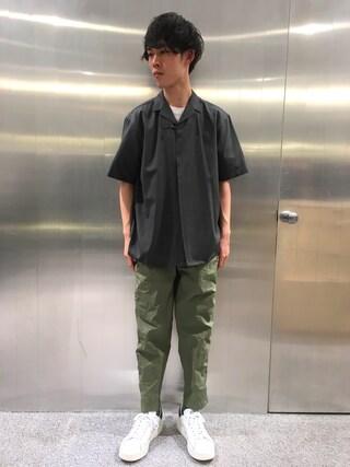 MIDWEST OSAKA HERBIS|Muraiさんの(adidas originals|アディダスオリジナルス)を使ったコーディネート