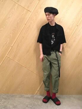 MIDWEST OSAKA Muraiさんの(KIJIMA TAKAYUKI キジマ タカユキ)を使ったコーディネート