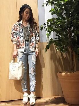 VENCE share styleイオンモール四条畷店|kazuhaさんの(VENCEEXCHANGE|ヴァンスエクスチェンジ)を使ったコーディネート