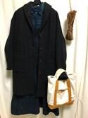 rurさんの「BEAMS BOY / チノ ジャンパースカート(BEAMS BOY|ビームスボーイ)」を使ったコーディネート