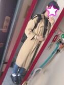 MaGoさんの「ギャバノーカラーコート【niko and ...】(niko and...|ニコアンド)」を使ったコーディネート