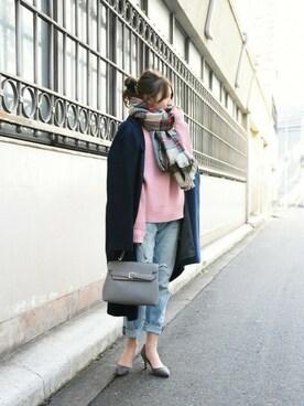 PLAIN CLOTHING TOKYO|chikaさんの「ワンハンドドルハンドバッグ【PLAIN CLOTHING】(PLAIN CLOTHING)」を使ったコーディネート