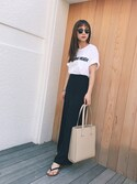 「【Ray-Ban(レイバン)】CLUBMASTER(Ray-Ban)」 using this 伊地知朋子 looks