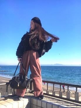 DIESEL ACCESSORIES STORE 横浜|Nancy_074さんの(ROSE BUD|ローズバッド)を使ったコーディネート