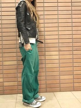 misaさんの(URBAN RESEARCH DOORS WOMENS|アーバンリサーチ ドアーズ ウィメンズ)を使ったコーディネート