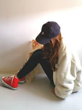 Ayumiさんの「CANVAS ALL STAR HI/キャンバス オールスター HI(CONVERSE|コンバース)」を使ったコーディネート